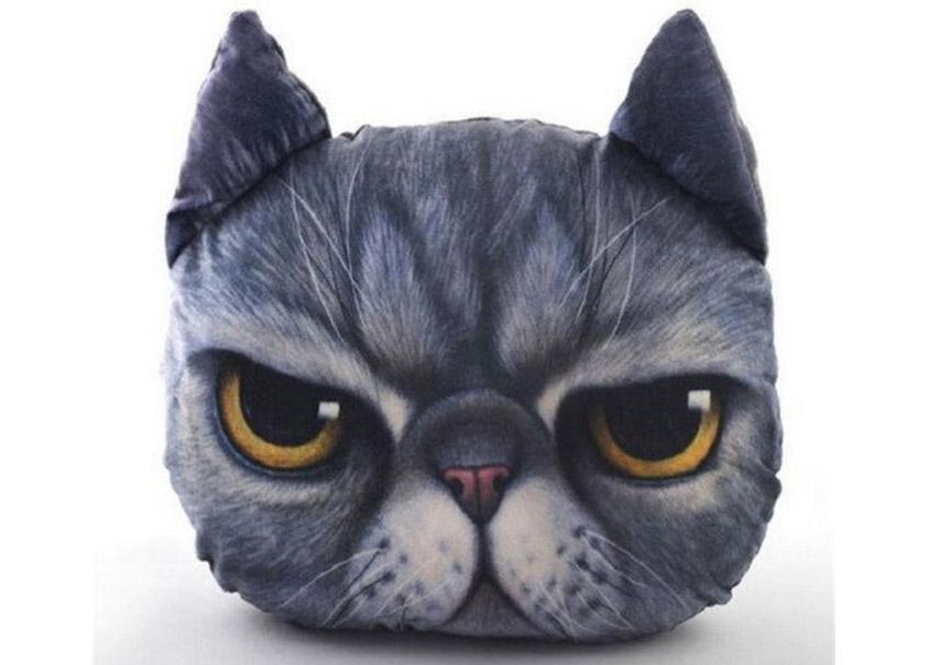 Morcos macska párna